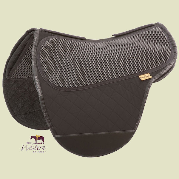 Barefoot Cheyenne/SoftWalk/JustAdjust/Merlyn Black Physio Saddle Pad