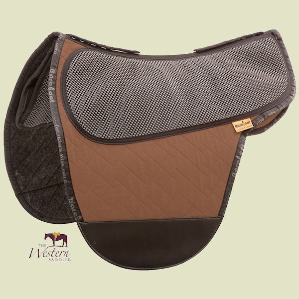 Barefoot Cherokee/Nottingham Brown Physio Saddle Pad