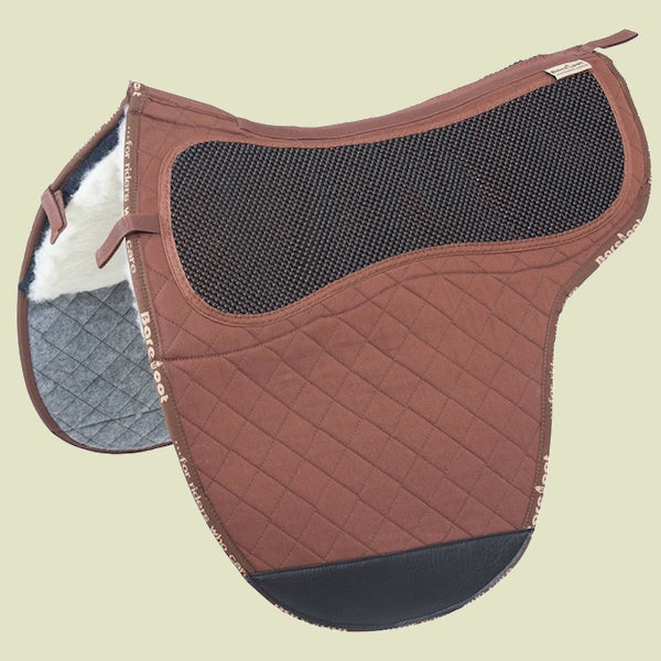 Barefoot Cherokee/Nottingham Brown Saddle Pad
