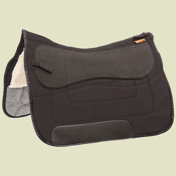 Barefoot Nevada/Madrid Black Saddle Pad