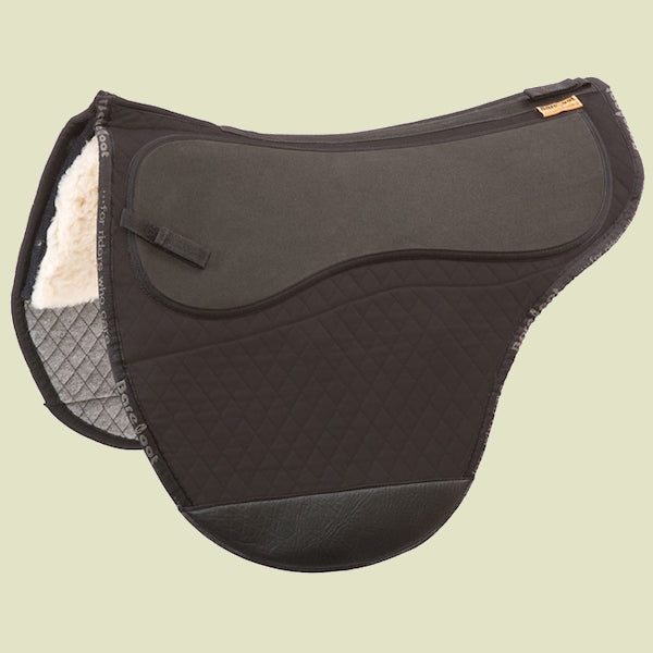 Barefoot Cheyenne Pony Black Saddle Pad