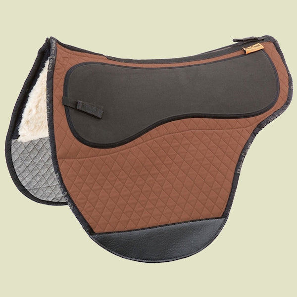 Barefoot Cheyenne/JustAdjust/SoftWalk Brown Saddle Pad