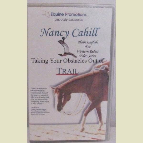 Nancy Cahill – Taking Your Obstacles Out of Trail DVD