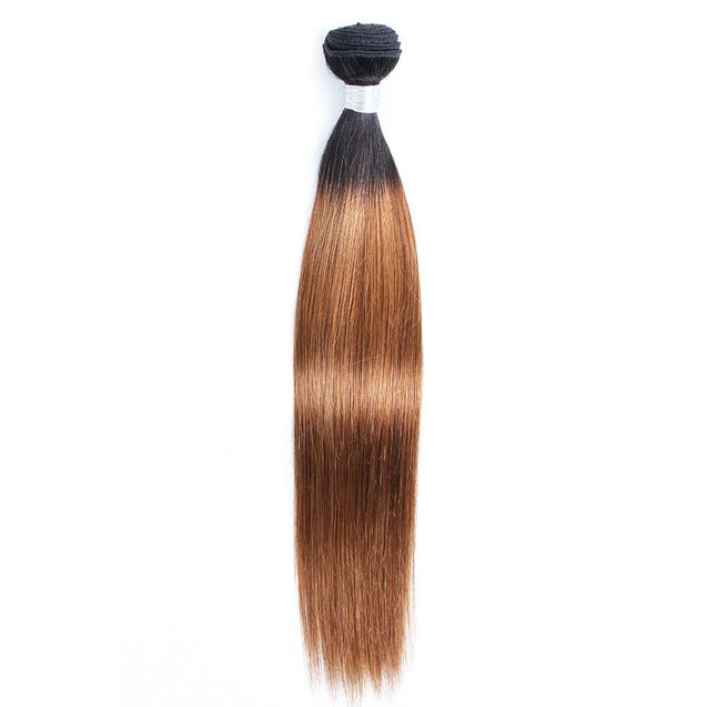 Sulmy 1 Bundle 1b/#30 Two Tone Colored straight Ombre Brazilian Human Hair Weave ombre hair weave SULMY