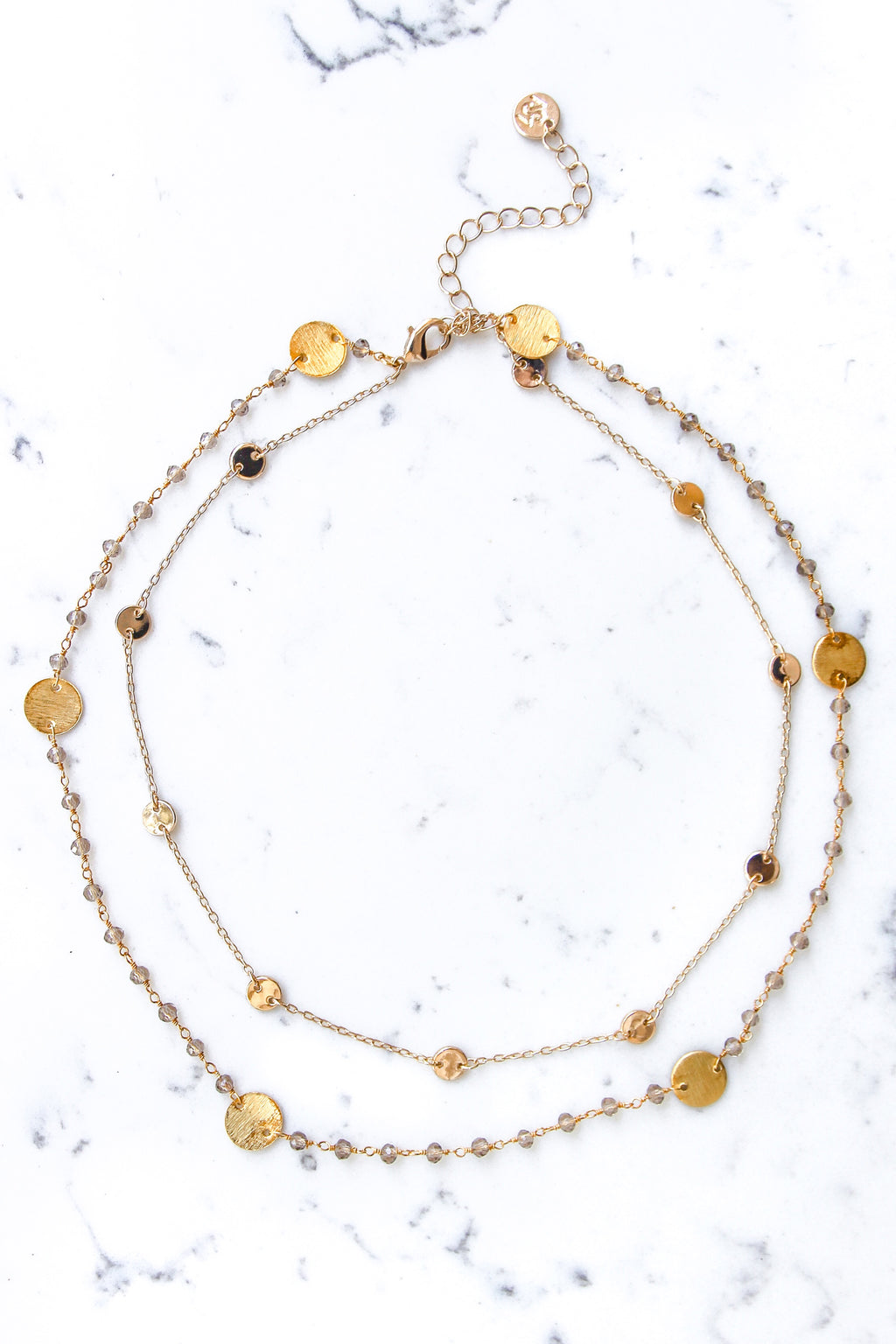 Champaign Demi Necklace
