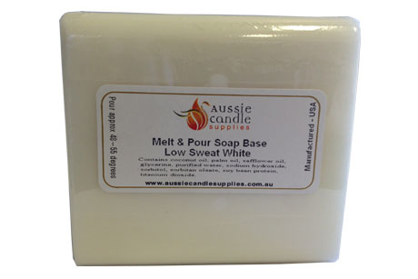 Low Sweat White Soap