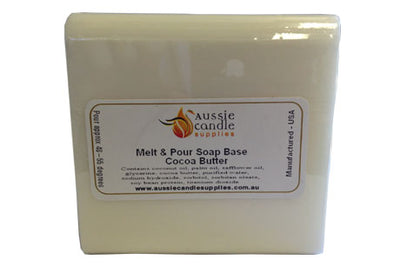 Cocoa Butter Soap Base