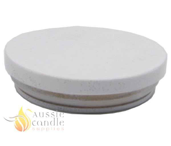 White Wooden Lid