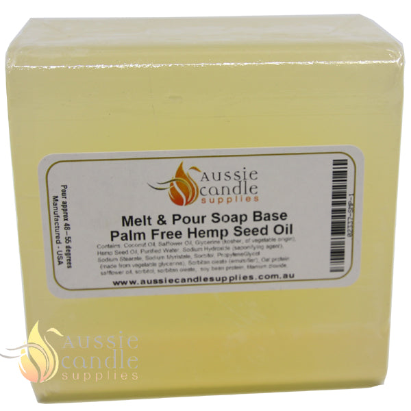 Palm Free Hemp Seed Oil Soap