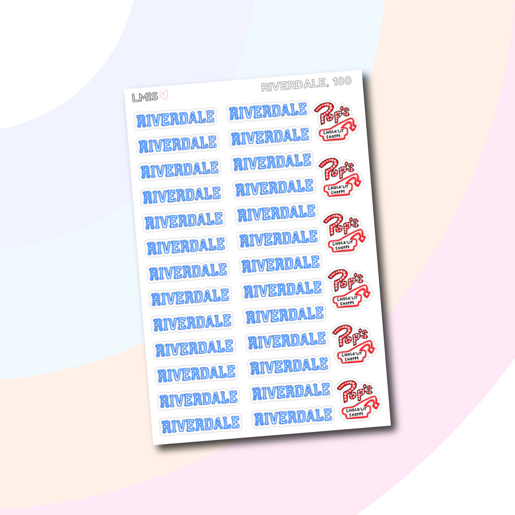Riverdale TV Stickers // 100 - Grab these stickers for your planner and let's get to it! - Let's Make It Sparkle