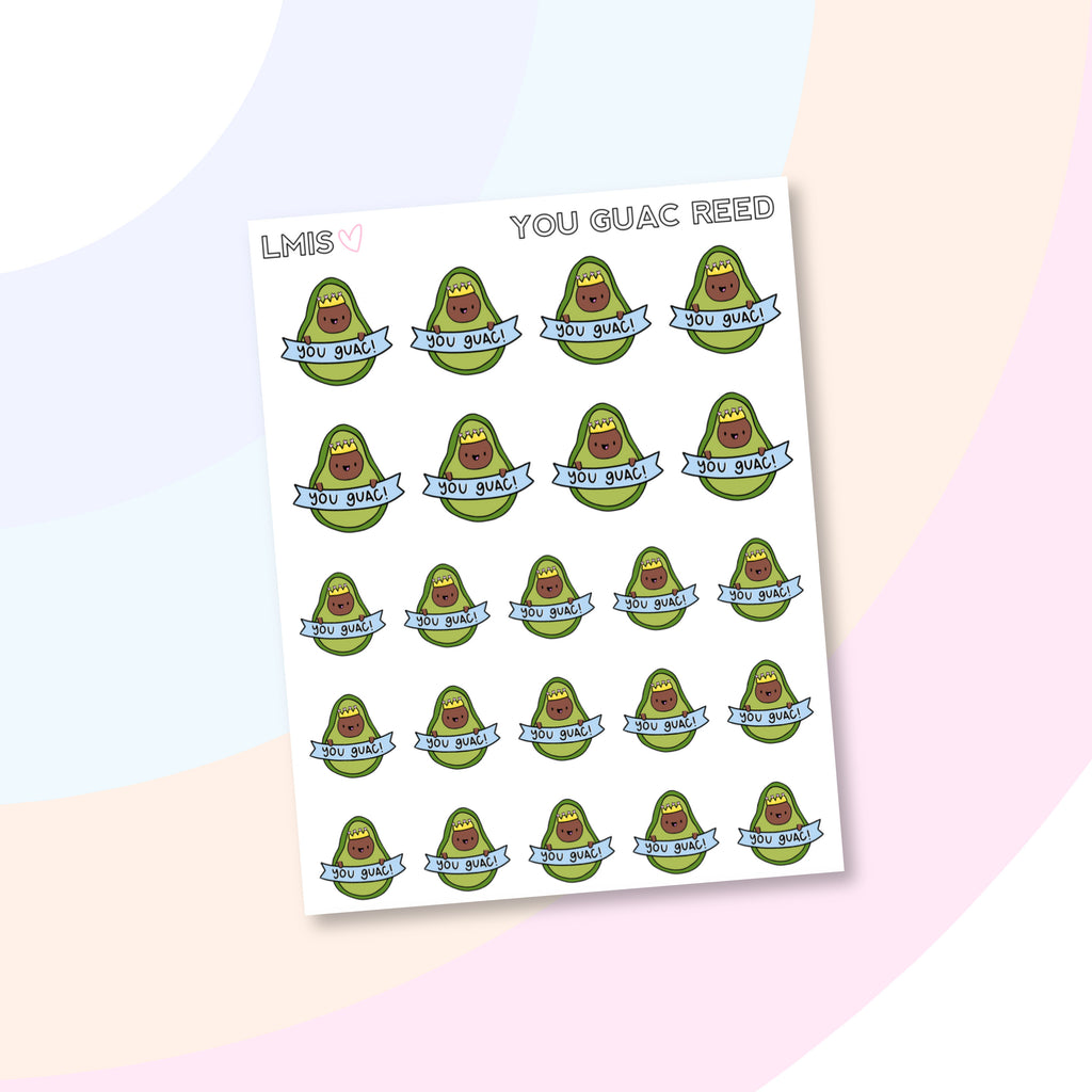 You Guac AvoBabe Planner Stickers