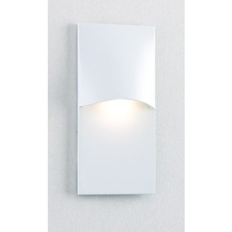 1 Light LED Step Light Finish: White