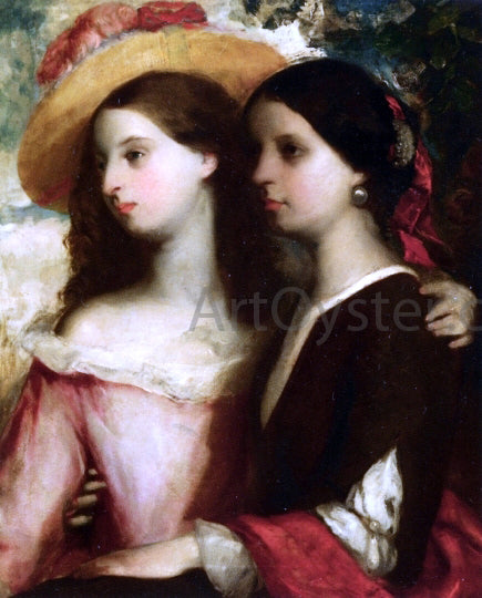 William Etty Friends - Canvas Art Print