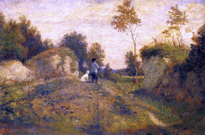 William Morris Hunt Landscape - Canvas Art Print