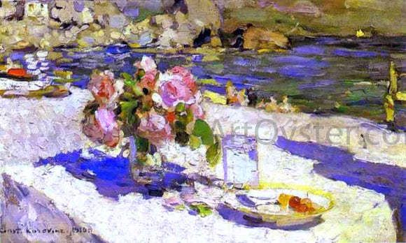 Constantin Alexeevich Korovin On a Sea Shore - Canvas Art Print