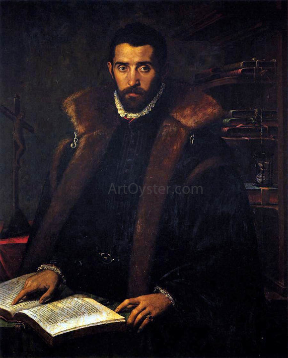 Unknown (4) Masters Portrait of Torquato Tasso - Canvas Art Print
