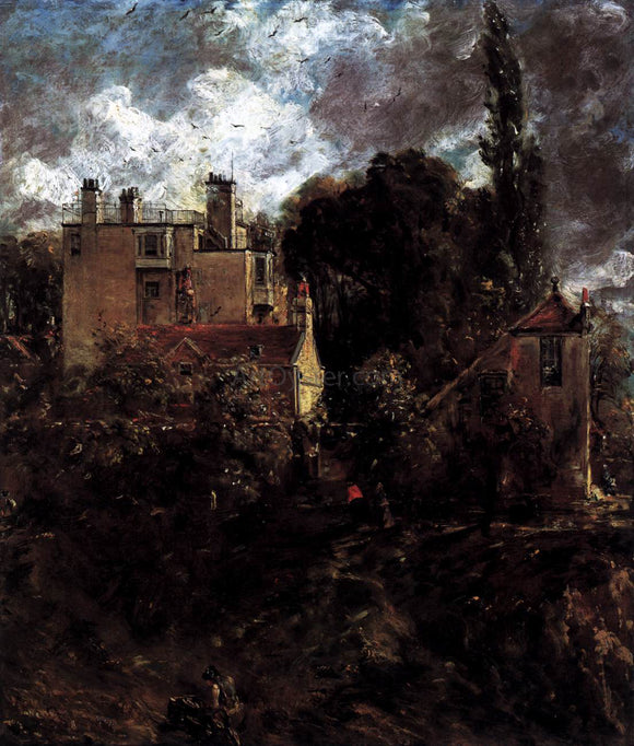 John Constable The Admiral's House (The Grove) - Canvas Art Print
