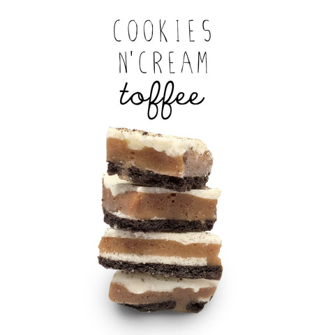 Cookies n Cream Toffee