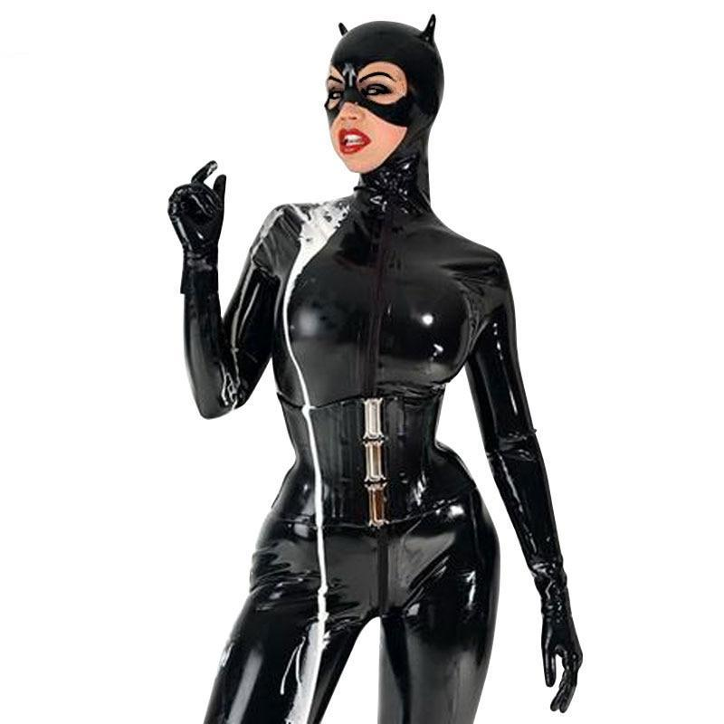 Latex Catwoman Catsuit Sissy Panty Shop
