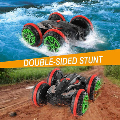 Waterproof RC Car 360 Rotate Remote Control Car Driving on Water and Land Amphibious Electric Toys For Children Xmas Gifts