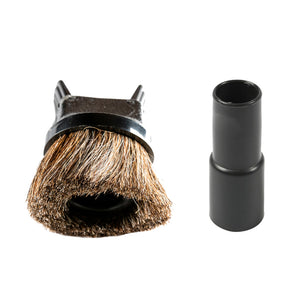 Horsehair Dusting Brush & Upholstery Tool w/ Adapter for aiRider - aiRider vacuum