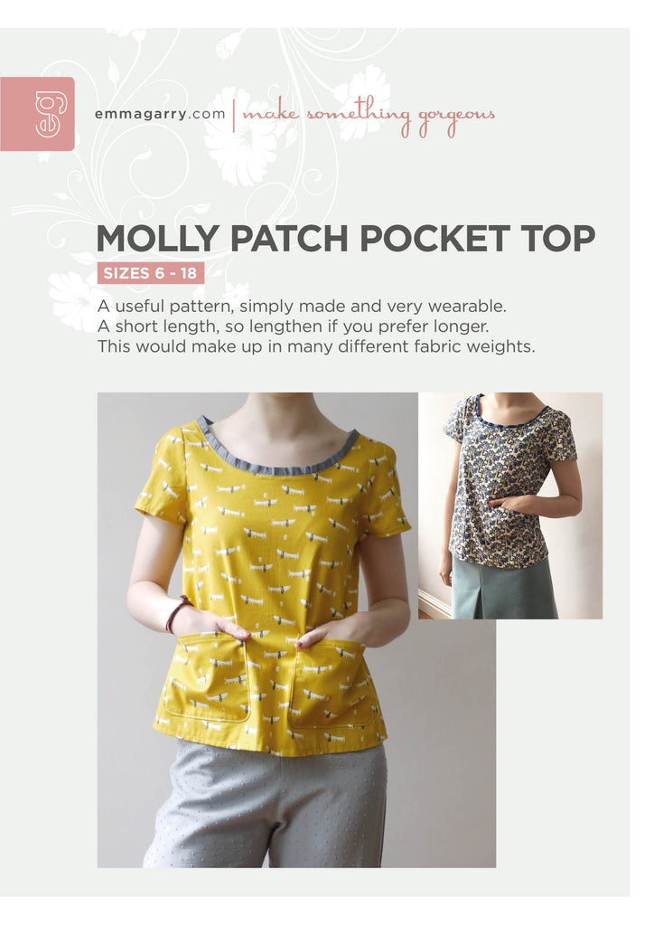 E.G. - Molly Patch Pocket Top