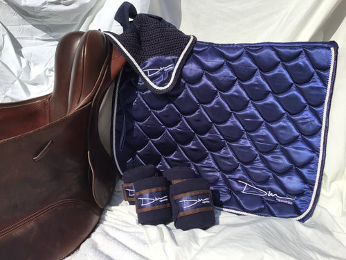 Midnight Blue saddle pad