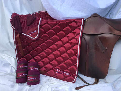 Ruby saddle pad