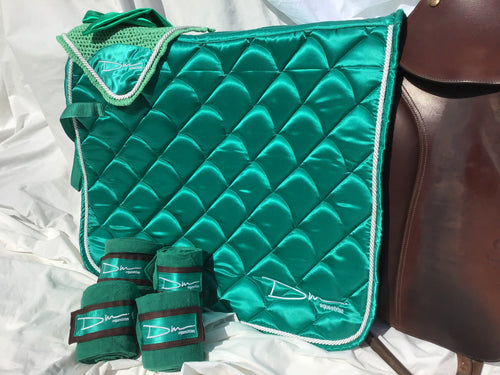 Jungle Green Saddle pad