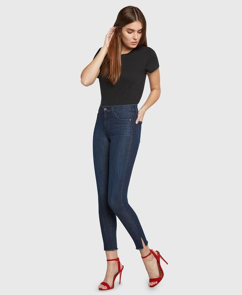 High Rise Skinny, Gem Jeans - Dark Denim