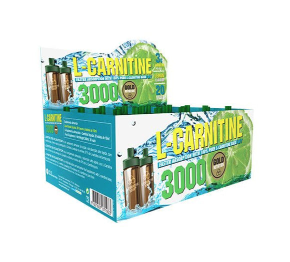 L-CARNITINA GOLD NUTRITION 3000 20 doze