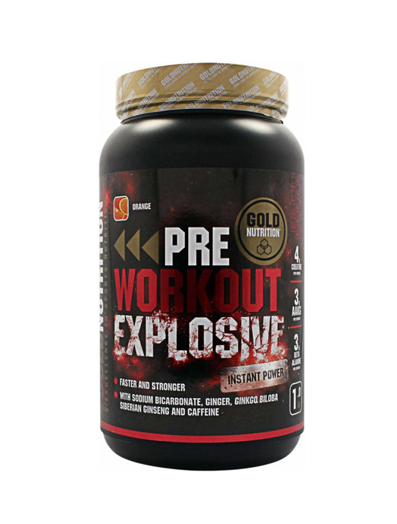 Pre-Workout Explosive GOLD NUTRITION  1.5 kg