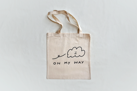 'On My Way!' Tote Bag
