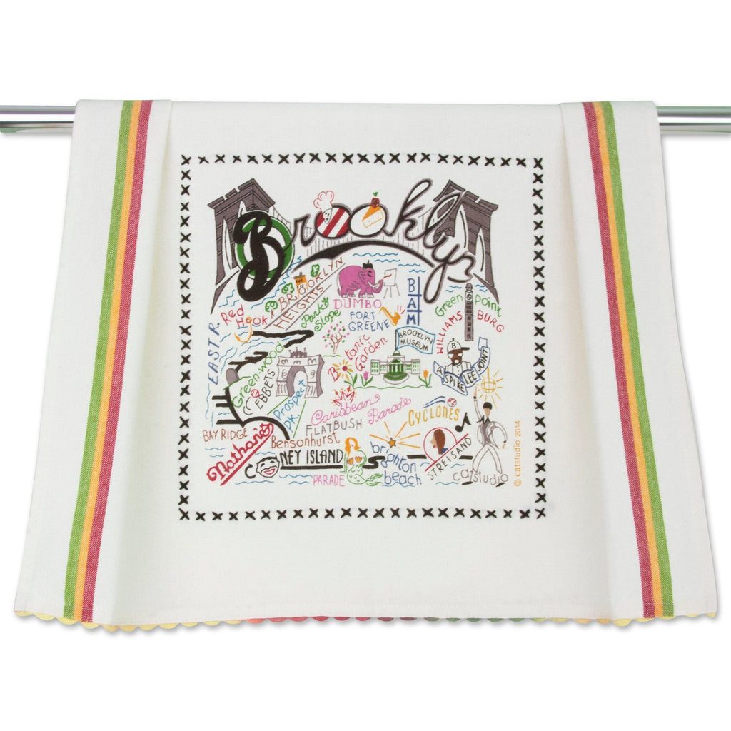 cat studio brooklyn dish towel