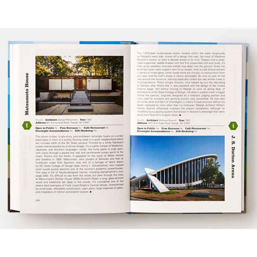 mid-century modern architecture travel guide east coast pages