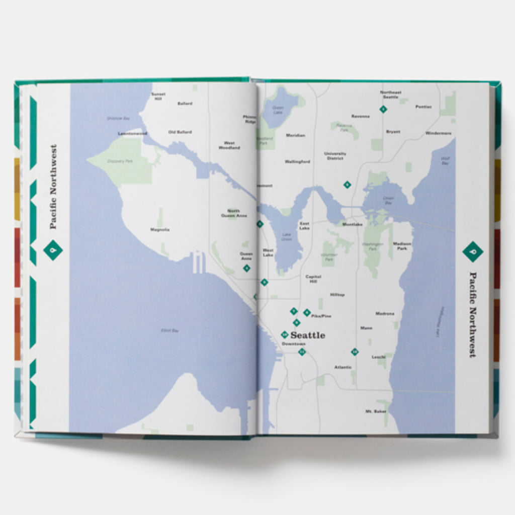 phaidon mid-century modern architecture travel guide west coast usa page