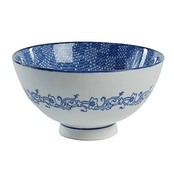 Blue & White Bowl IV