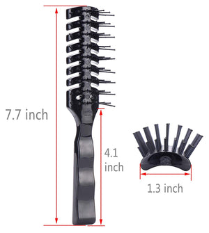 Mens Vented Hair Brush for Blow Drying