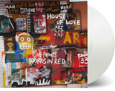 The House of Love - She Paints Words In Red [Import]