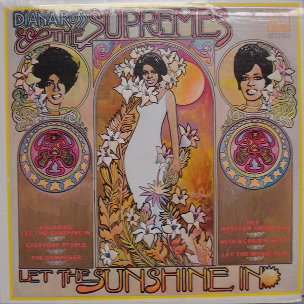 Diana Ross & The Supremes - Let The Sunshine In - Pre-owned Vinyl