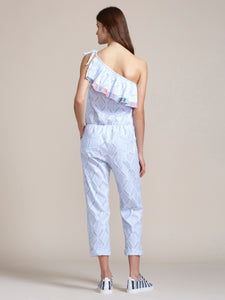 Besu One Shoulder Jumpsuit