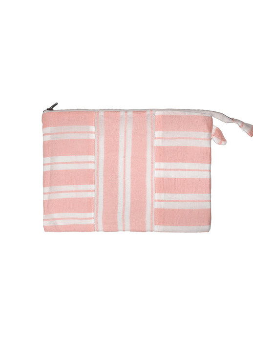 Doro Fabric Pouch - Light Coral