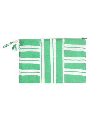 Doro Fabric Pouch - Sea Green