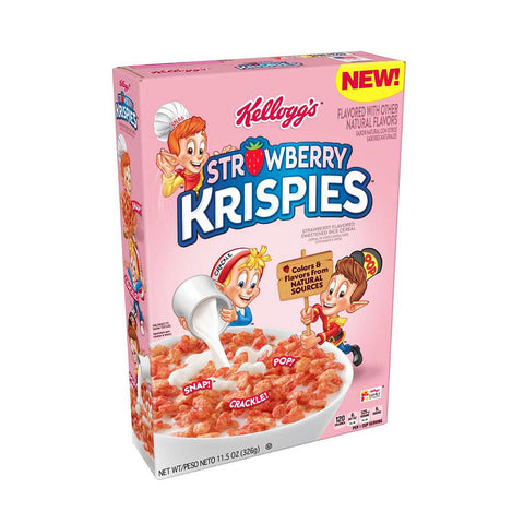 Strawberry Rice Krispies