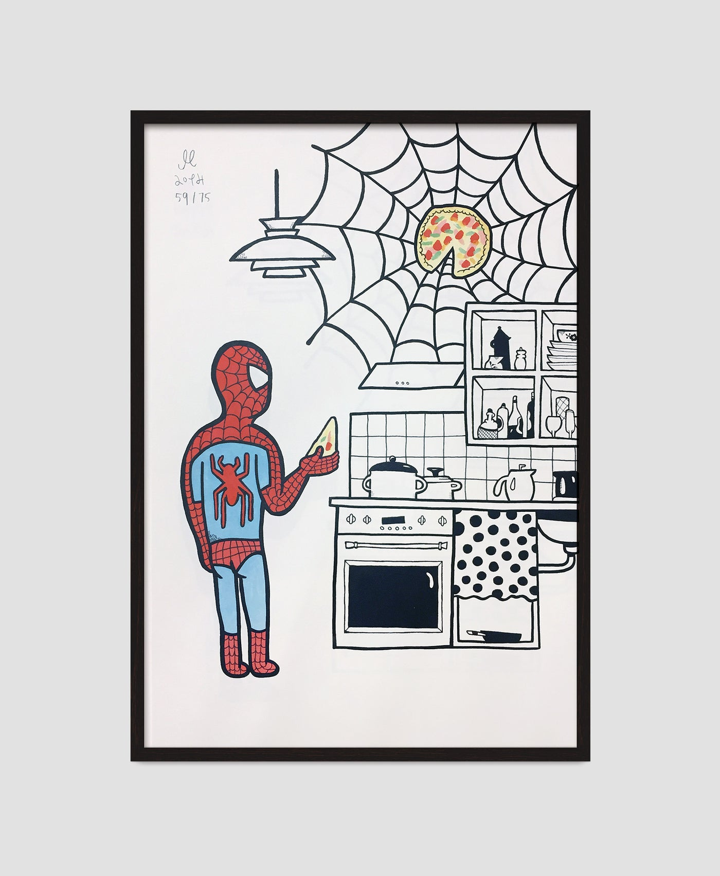 Dinner time – Spiderman