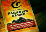 6 Pack of 12oz Paradise Blend Coffee (Ground)