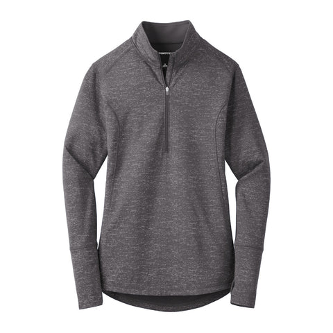 Ladies' Sport-Tek Reflective Heather 1/2-Zip
