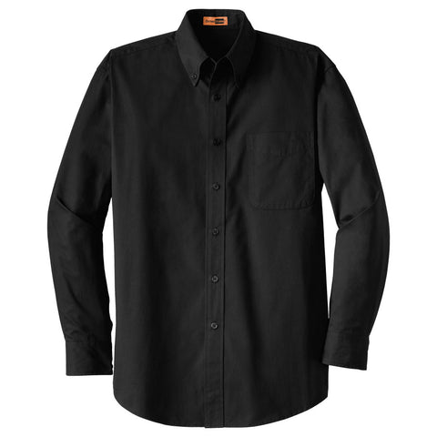 Men's Cornerstone Long-Sleeve SuperPro Twill