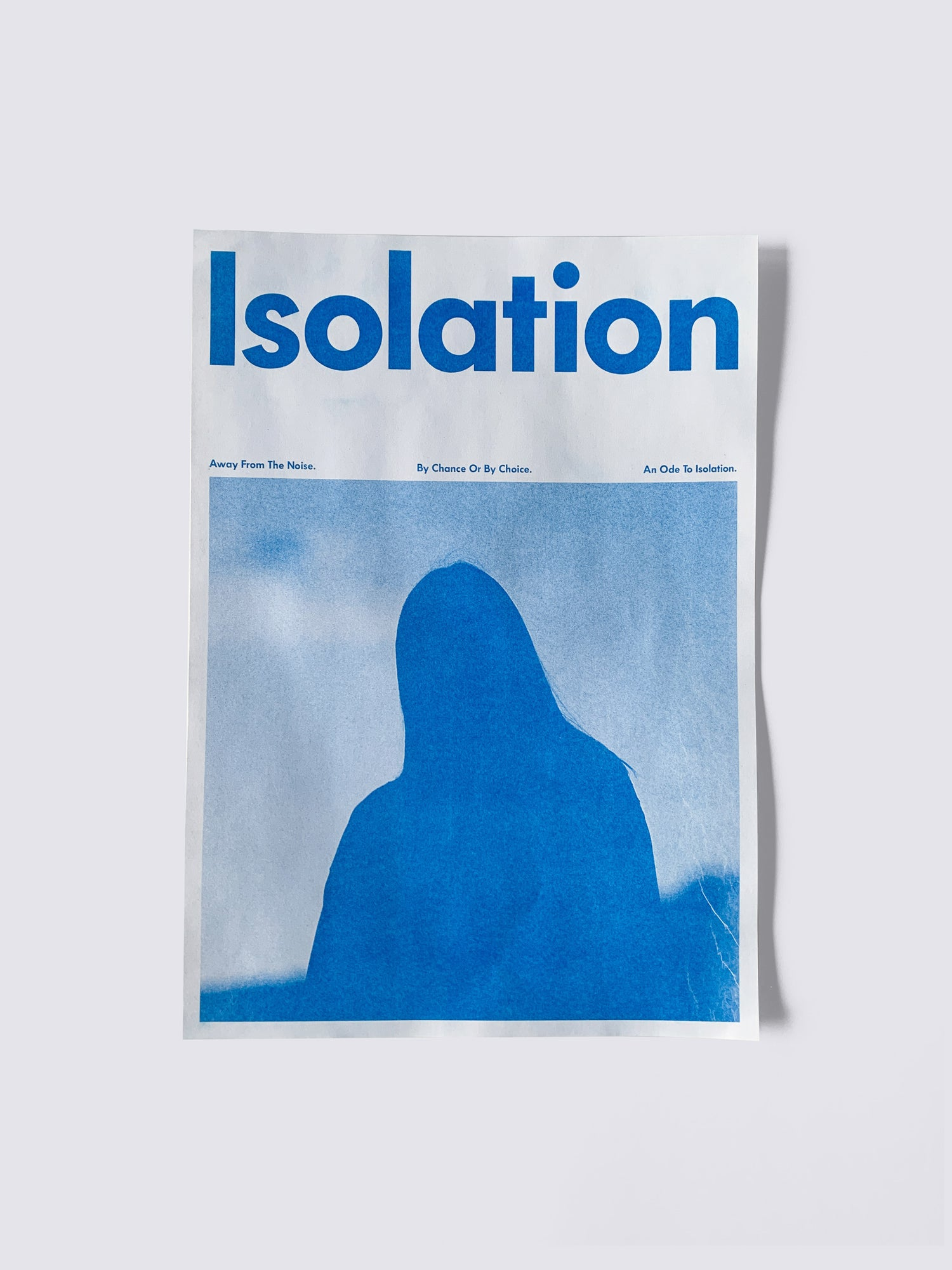 Isolation Riso Poster