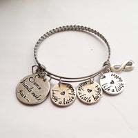Best friends bracelet - Stainless steel bracelet gifts, gift ideas